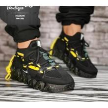 Sneakers  Cod 403 Negru Galben