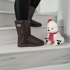 1+1 Gratis Cizme Imblanite Cod UGG Brown
